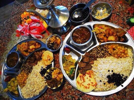 Newari food-Nepal