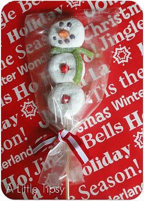 Fun Ideas for Kid Friendly Christmas TreatsHoliday, Christmas Parties, Treats, For Kids, Gift Ideas, Powder Donuts So, Donuts Snowman, Doughnuts Snowman, Crafts