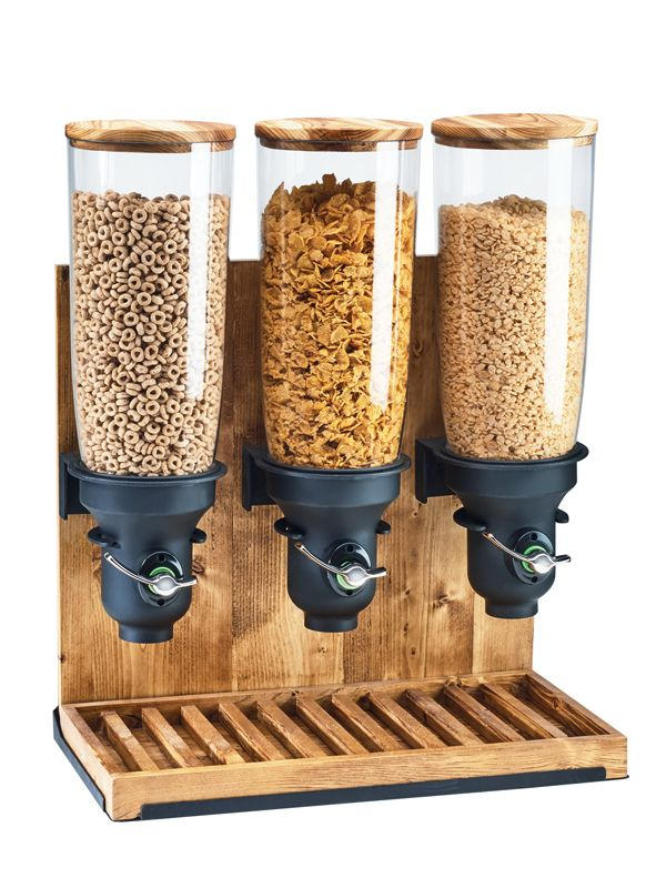 Item: 3584-3-99 Madera Cereal Dispensers