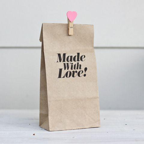 verpakking - wasknijper - packaging - mini heart pegs