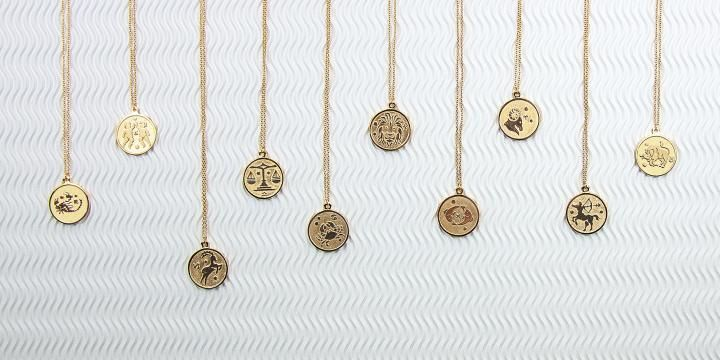 Stilnest Anna Saccone's Zodiac Jewellery Collection