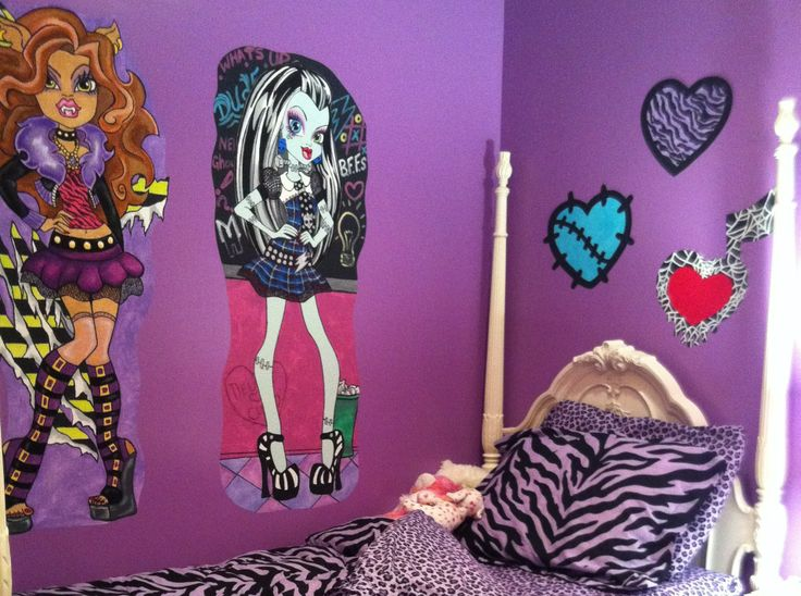 Top 25 Ideas About MONSTER HIGH ROOM IDEAS On Pinterest
