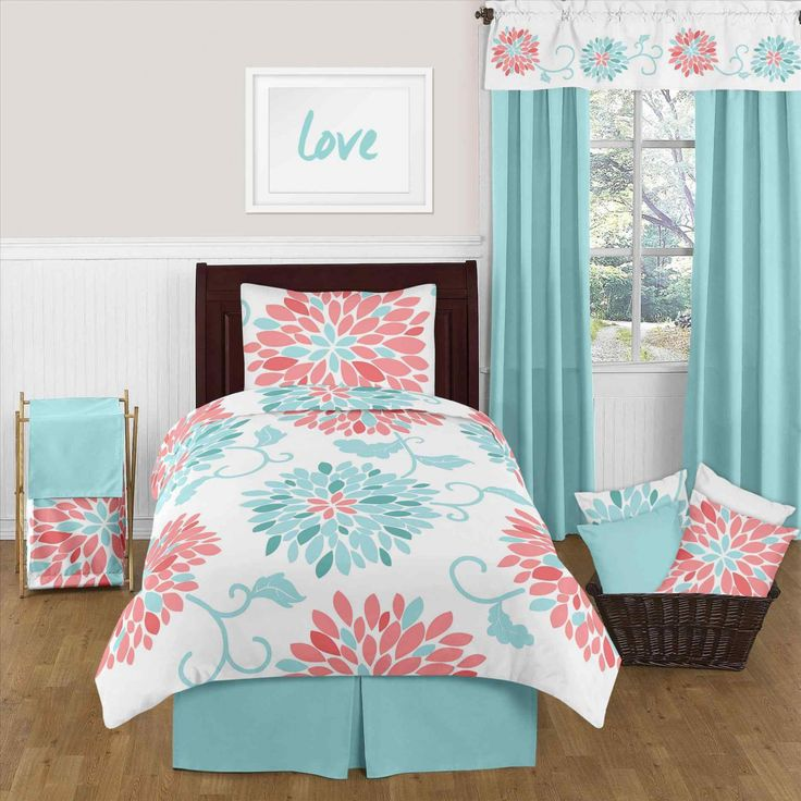 Seafoam Green And Coral Bedroom   Vintage Bedroom Decorating Ideas Check  More At Http:/