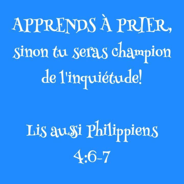 Philippiens 4:6-7