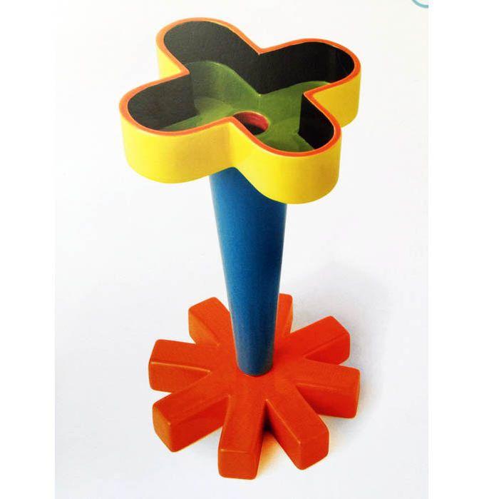 """Karim Rashid - Bitossi - Vaso """"A Croce Piccola"""" - Geglazuurd keramiek in 6 kleuren - gelimiteerd 24/349"""