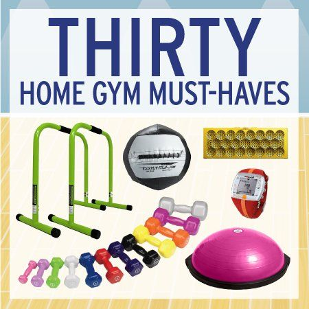 30 Home Gym Must-Haves