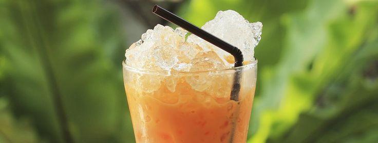 Thé glacé style thaï - l'heure du thé