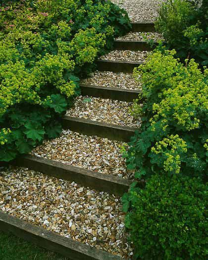 25 Lovely DIY Garden Pathway Ideas Part 87