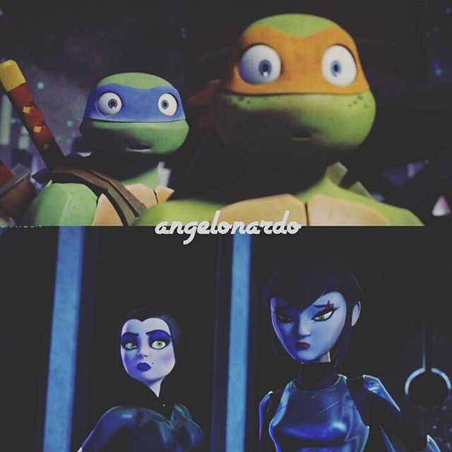 Images of Karai And Mikey If We Ever Meet Again - #rock-cafe