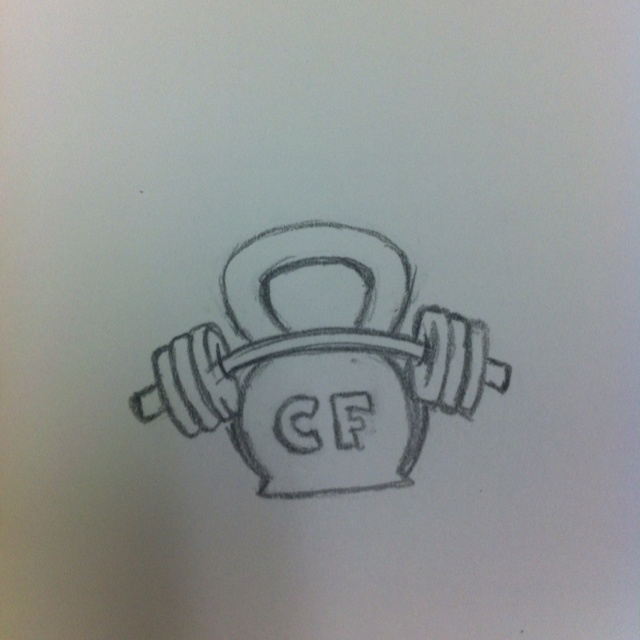CrossFit tattoo concept