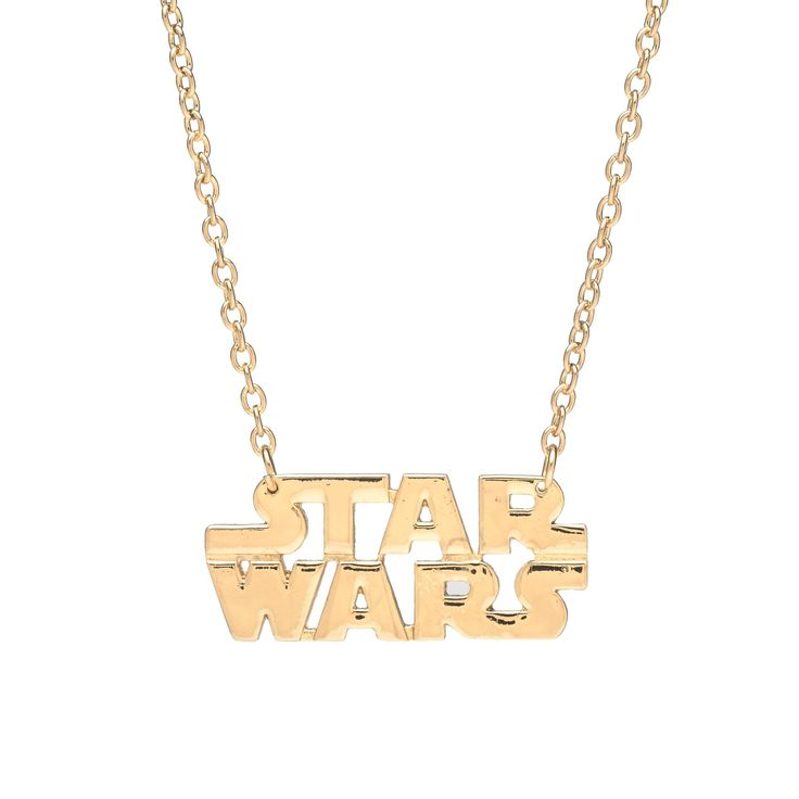 Star Wars Logo Necklace I MUST HAVE THIS!