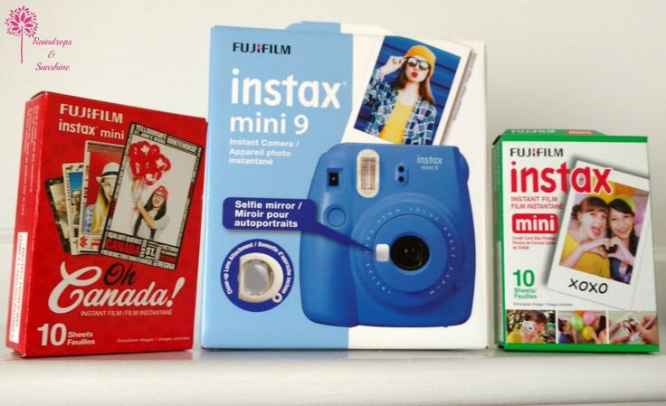 My daughter can't wait to use her new Instax Mini 9 on her grade 8 class trip.She loves that It instantly prints out credit card sized photos, that she can