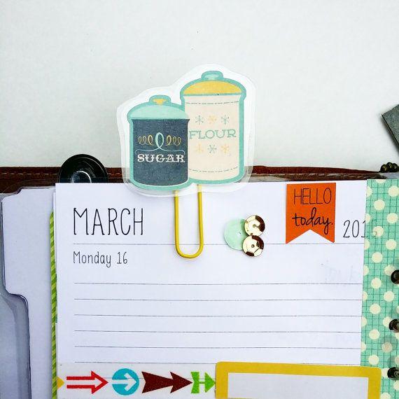 Planner Clip, Paperclip, bladwijzer, planner paperclip,