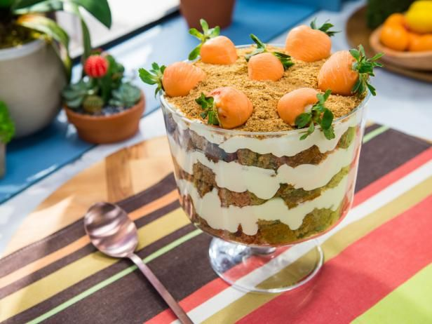 Get Carrot Cake Trifle Recipe from Food Network
