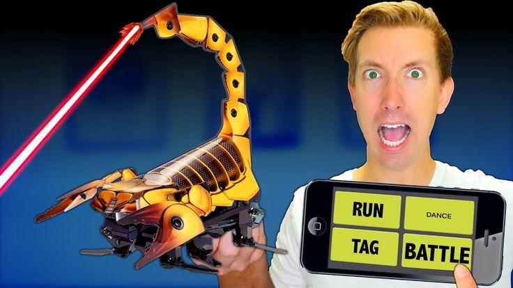 Build a ROBOT in Real Life! - Battle Robots vs Fruit Ninja (DIY Toys - A...