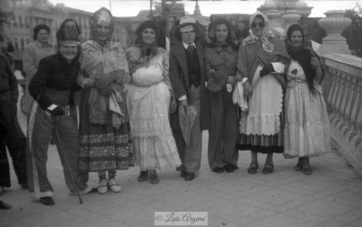Carnavales, años 40. Murcia © Luis Argemí.