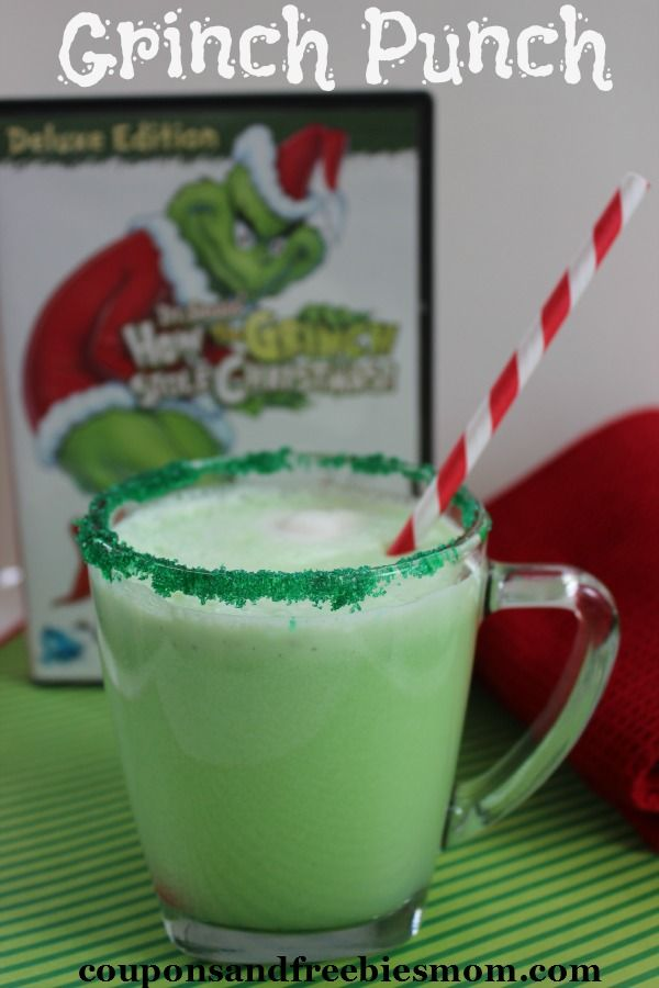 Grinch Punch Recipe - Coupons and Freebies Mom