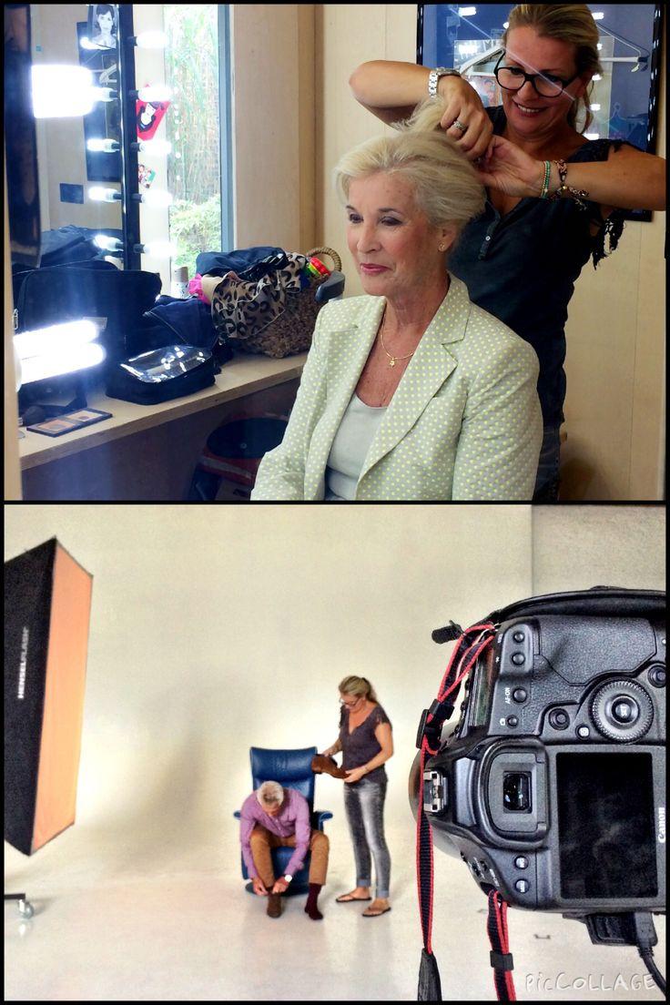 Styling & visagie voor fotoshoot bij NoPoint Studios met oa model Anne Bosch-vandergraaf