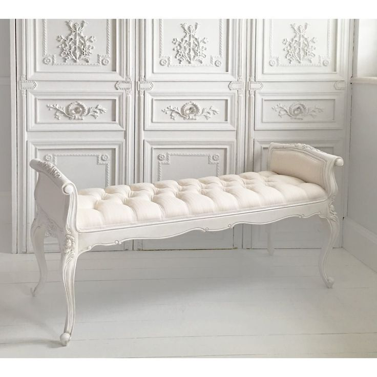 Image Result For Classy White Benches