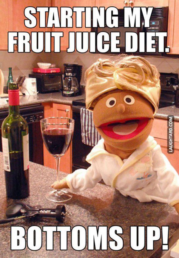 Starting my fruit juice diet