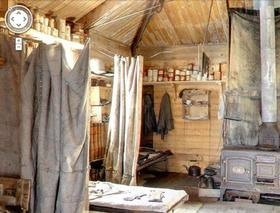 Very cool to see inside Shackleton's hut in Antarctica.