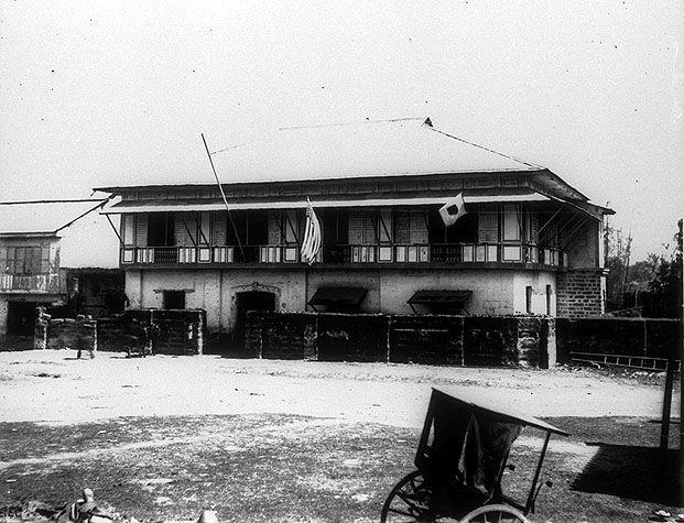 Former headquarters of General Gregorio Del Pilar in San Pedro de Makati, Manila,1899