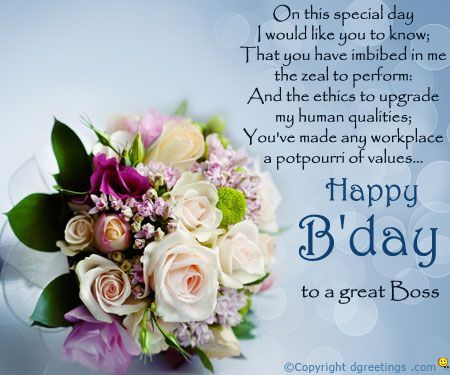 The 107 best happy birthday wishes for boss images on pinterest birthday cards for boss m4hsunfo