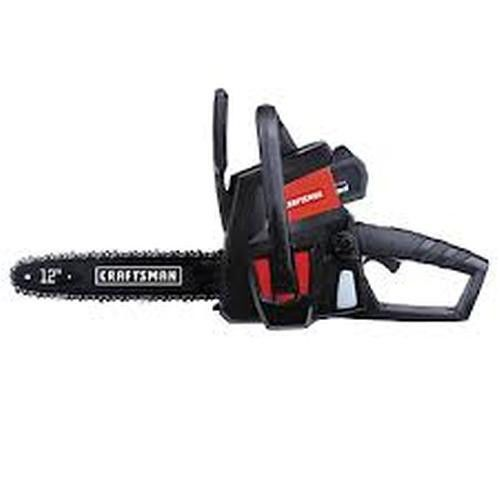 """Cordless Battery Operated Craftsman Chainsaw 12"""" 40-Volt Trimmer Compact Tools #Craftsman"""