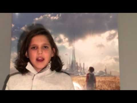 Film Review: Tomorrowland (DVD) by KIDS FIRST! Film Critic Miles T. #Tomorrowland