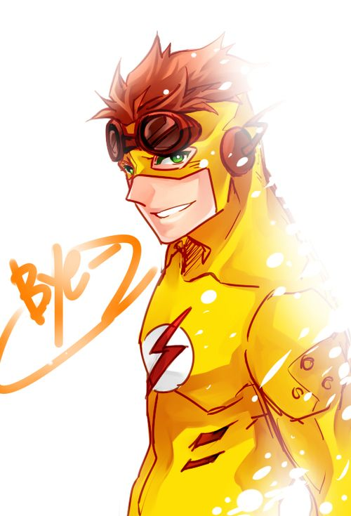 Young Justice - Kid Flash - Wally West