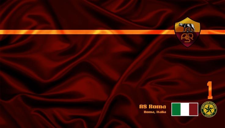 AS Roma - Veja mais Wallpapers e baixe de graa em nosso Blog soccerflags.blogs... Daje Roma Daje