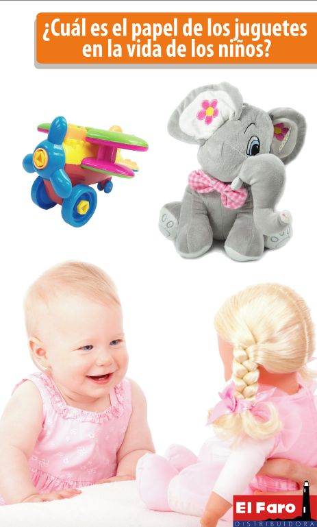 Razones por las que los niños desarrollan mejor sus habilidades y destrezas a partir del uso de los juguetes.