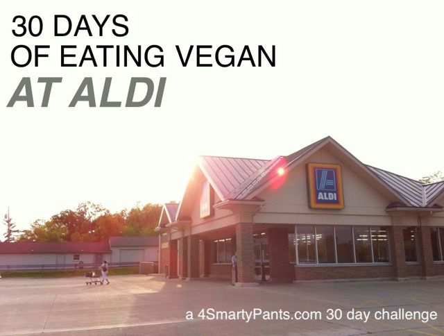 30 days of eating vegan at Aldi