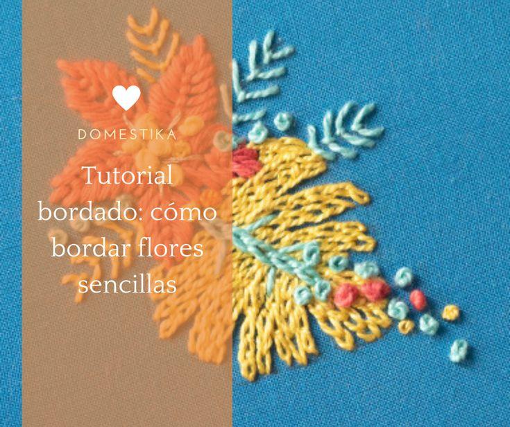 5 sencillos pasos para aprender a bordar flores sencillas con Señorita Lylo. #diy #affiliate #craft #embroidery Diy, Kids Rugs, Embroidery, Crafts, Home Decor, Embroidery For Beginners, Single Flowers, Flower Tutorial, Creativity