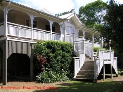 Croft architects Corinda house