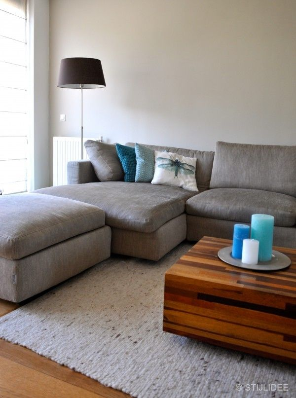 17 best ideas about grey corner sofa on pinterest corner sofa light grey walls and living - Sofa stijl voormalige ...