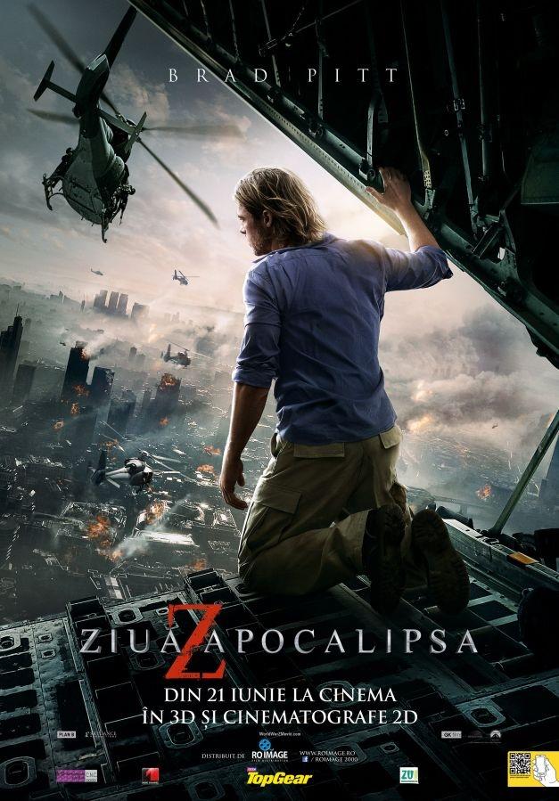 "VIDEO ""World War Z"": după Apocalipsa maiaşă vine Apocalipsa zombie"