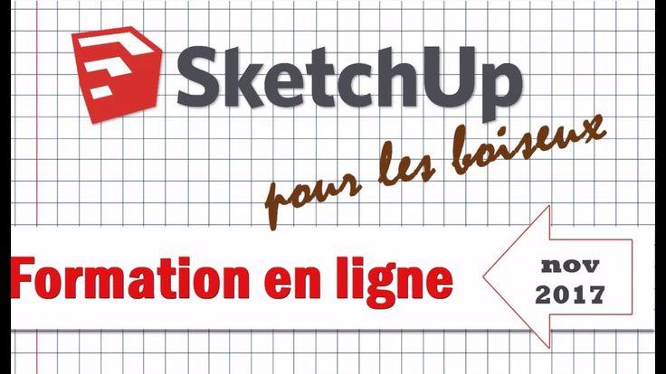 Formations en ligne BLB-bois : SketchUp pour la menuiserie