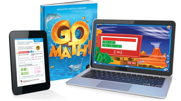 "I'm so happy our school has changed to ""Go Math!""  My 4th grader is doing complicated math, and it's easy for him because they teach it WELL.  Go Math Homepage"