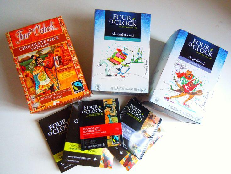 Claim Free Four O'Clock Tea Sample Pack!! • Canadian Savers