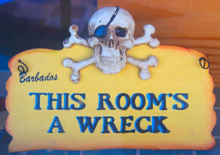 Souvenir sign spotted in a store in #Barbados capital city Bridgetown. http://barbados.org/btown.htm