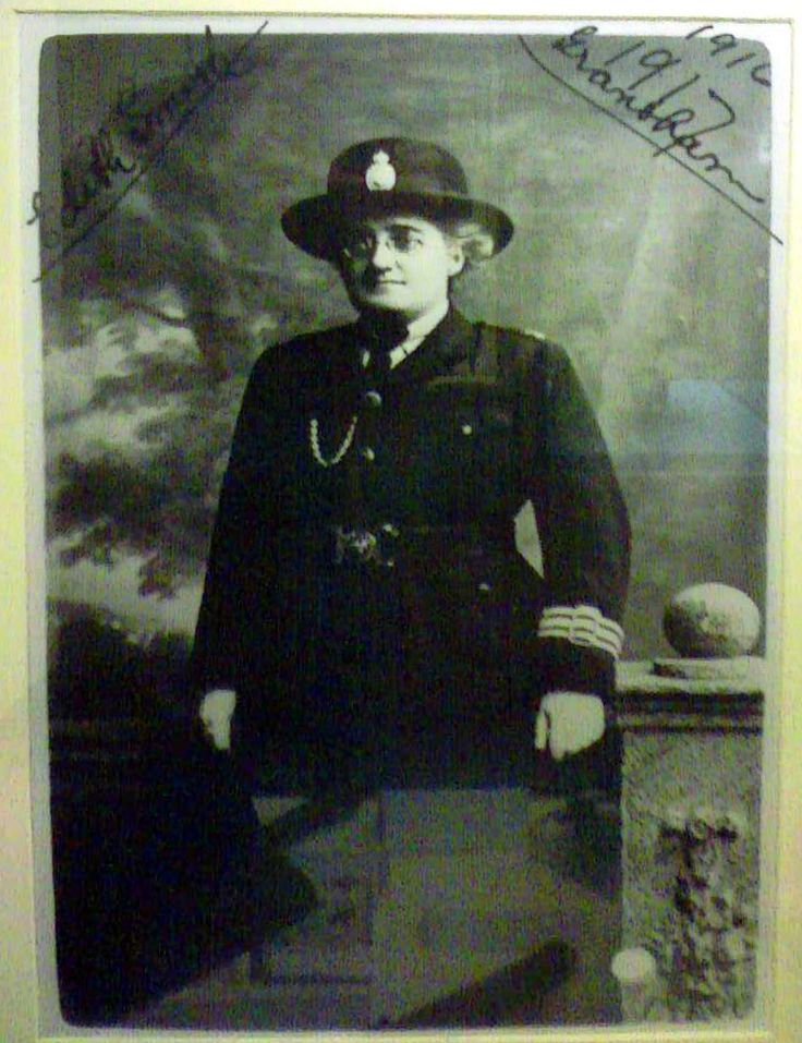 Edith Smith (died 1924) was the first woman police officer
