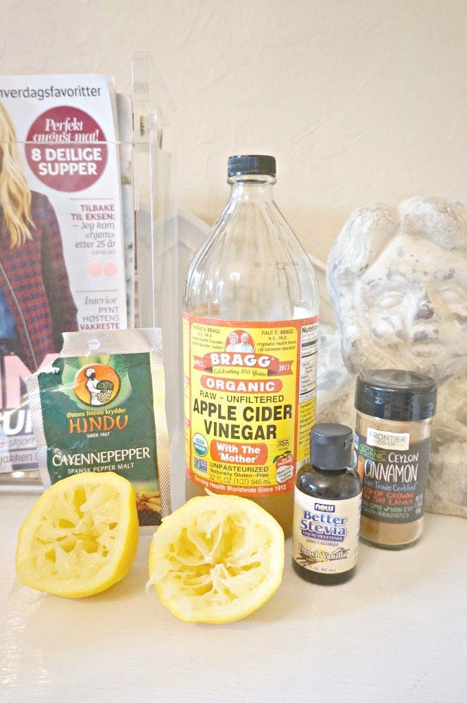 detox kur drink sunn eplecidereddik helse tips ernæring slanking