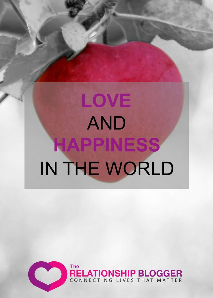 Love and happiness in the world