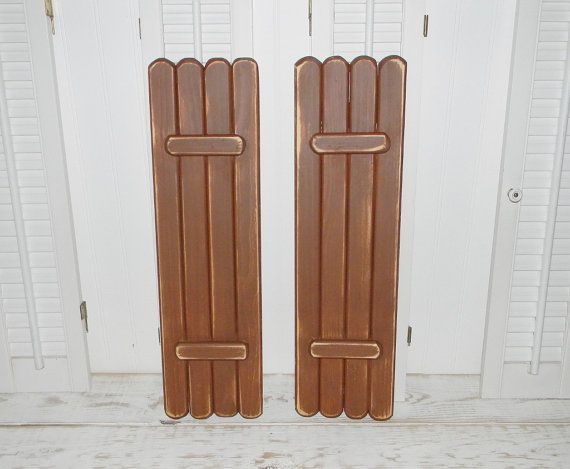 Hey, I found this really awesome Etsy listing at https://www.etsy.com/listing/201286220/wooden-shutters-interior-shabby-shutters