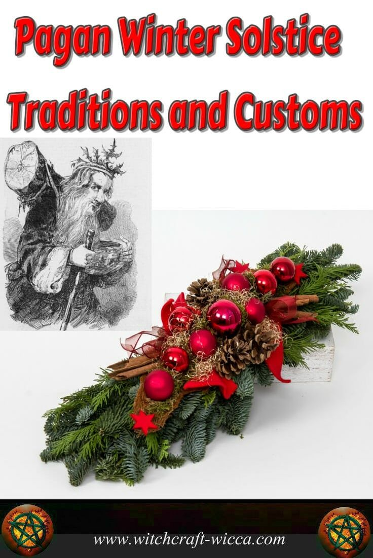 Pagan winter solstice traditions and customs- give blessings for the food that you're able to feast on and make sure you do share something with the less fortunate. Yule holiday is a season of magic, so embrace it and empower your life with it. via @wicca_witchcraft