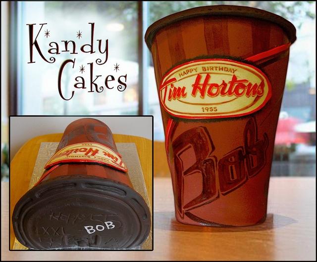 Tim Hortons Cake :D