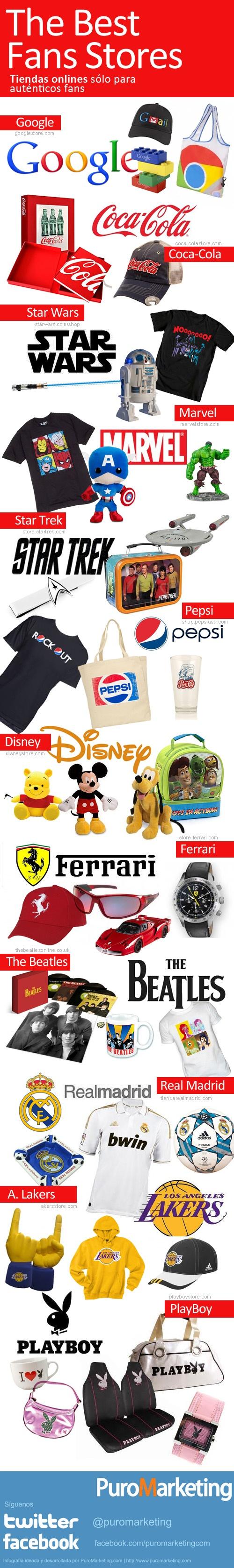 Tiendas online para autenticos fans de marcas... by #puromarketing por @jagtomas