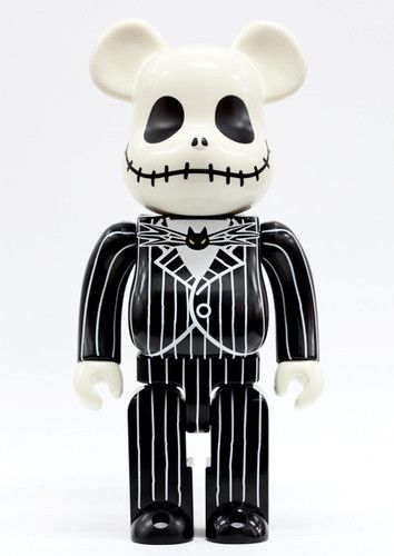 The Nightmare Before Christmas Jack Skellington Tim Burton 400% Bearbrick