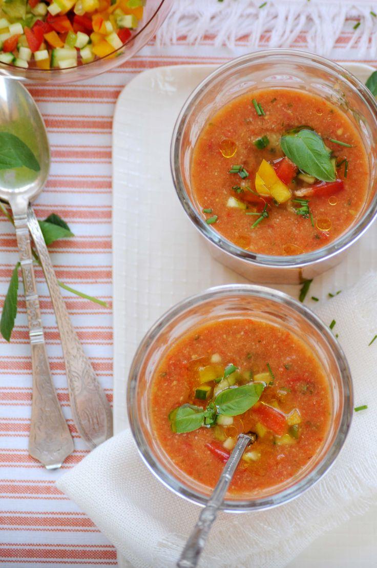 gazpacho - spansk tomatsuppe